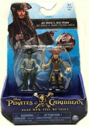 Pirates of the Caribbean: Jack Sparrow vs. Ghost Crewman figures