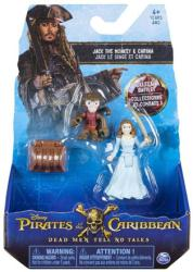 Pirates of the Caribbean: Jack the Monkey & Carina figures