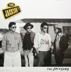 The Jacksons poster: 2300 Jackson St vintage LP/Album flat