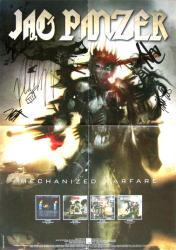 "Jag Panzer poster: Mechanized Warfare (17"" X 23 1/2"" promo poster)"