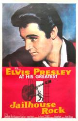 Jailhouse Rock movie poster [Elvis Presley] 26x40 reproduction