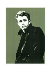 James Dean poster print: Portrait (23 1/2'' X 31 1/2'')