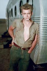 James Dean poster: Trailer (24'' X 36'' poster) New