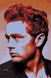 James Dean poster: Portrait (24x36)