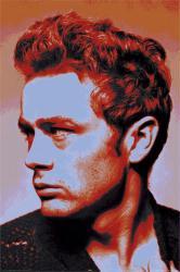 James Dean poster: Portrait (24x36)