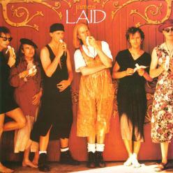 James poster: Laid vintage promo LP/Album flat (1993)