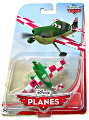 Planes: Jan Kowalski 1:55 die-cast plane (Mattel/2013) Disney