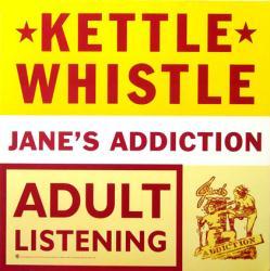 Jane's Addiction poster: Kettle Whistle vintage LP/Album flat (1997)