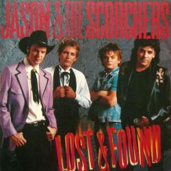Jason & the Scorchers poster: Lost & Found vintage LP/Album flat