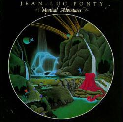 Jean-Luc Ponty poster: Mystical Adventures vintage LP/Album flat