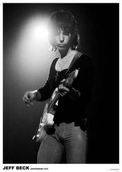 Jeff Beck poster: Amsterdam 1972 (23 1/2'' X 33'')
