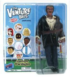 "The Venture Bros: Jefferson Twilight 8"" action figure (Bif Bang Pow)"