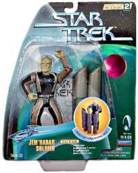 Star Trek Warp Factor Series 2: Jem'Hadar Soldier figure (Playmates)