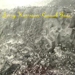 Jerry Harrison poster: Casual Gods vintage LP/Album flat