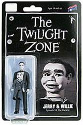 "The Twilight Zone: Jerry & Willie 3 3/4"" figure (Bif Bang Pow) B&W"