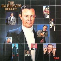 Jim Reeves poster: The Jim Reeves Medley vintage LP/album flat