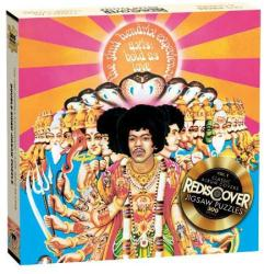 Jimi Hendrix jigsaw puzzle: Axis Bold As Love (300 piece/2-sided)