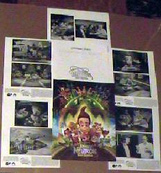 Jimmy Neutron: Boy Genius [a Nickelodeon film] rare Press Book Kit