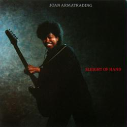 Joan Armatrading poster: Sleight of Hand vintage LP/Album flat (1986)