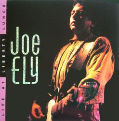 Joe Ely poster: Live At Liberty Lunch vintage LP/Album flat