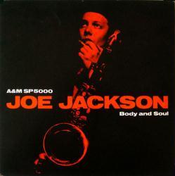 Joe Jackson poster: Body and Soul vintage LP/Album flat (1984)