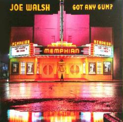 Joe Walsh poster: Got Any Gum? vintage LP/Album flat