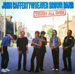John Cafferty and the Beaver Brown Band poster: Tough All Over LP flat