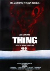 The Thing movie poster [1982] a John Carpenter film (24'' X 36'')