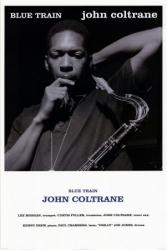 John Coltrane poster: Blue Train (24x36)