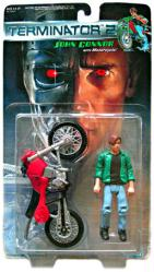 Terminator 2: John Connor action figure with Motorcycle (Kenner/1991)