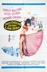 John Goldfarb, Please Come Home movie poster [Shirley MacLaine] 27x41