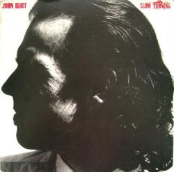 John Hiatt poster: Slow Turning vintage LP/Album flat