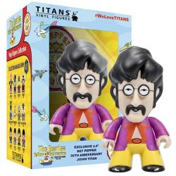 "The Beatles Yellow Submarine: 4.5"" John Lennon Sgt Pepper vinyl figure"