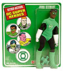 Retro Action DC Super Heroes: John Stewart action figure (Mattel)