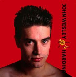 John Wesley Harding poster: Here Comes the Groom vintage LP/album flat