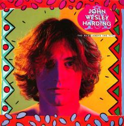 John Wesley Harding poster: Name Above the Title vintage album flat