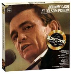 Johnny Cash jigsaw puzzle: At Folsom Prison (300 piece/Double-sided)