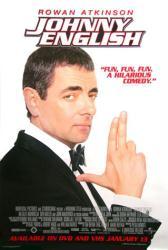 Johnny English movie poster [Rowan Atkinson] 27x40 video version NM