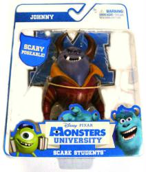 Monsters University Scare Students: Johnny action figure (Spin Master)