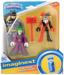 Imaginext DC Super Friends: The Joker & Harley Quinn figures