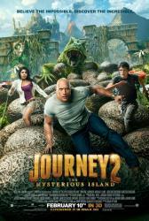 Journey 2: The Mysterious Island movie poster [Dwayne Johnson] 27x40