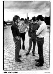 Joy Division poster: Outside Strawberry Studios 1979 (23 1/2'' X 33'')