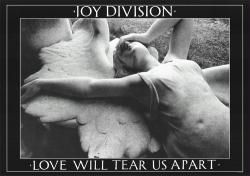 Joy Division poster: Love Will Tear Us Apart (33'' X 23 1/2'')