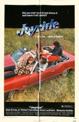 Joyride movie poster [Desi Arnaz Jr., Melanie Griffith] 27x41 original