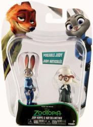 Zootopia: Judy Hopps & May Bellwether figures (Tomy) Disney