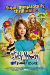 Judy Moody and the Not Bummer Summer movie poster [Jordana Beatty]