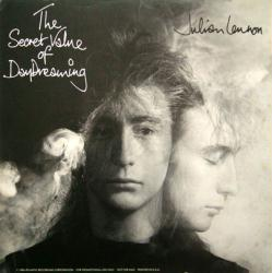 Julian Lennon poster: The Secret Value of Daydreaming vintage LP flat