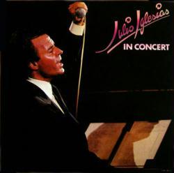 Julio Iglesias poster: In Concert vintage LP/Album flat