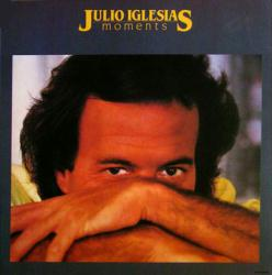 Julio Iglesias poster: Moments vintage LP/Album flat