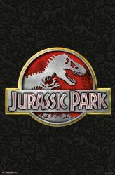 Jurassic Park movie poster (22x34) a Steven Spielberg film